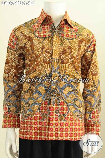 Batik Hem Mewah, Baju Batik Full Furing Istimewa Lengan Panjang Motif Bagus Banget, Di Jual Online 610K Tampil Gagah Bak Pejabat