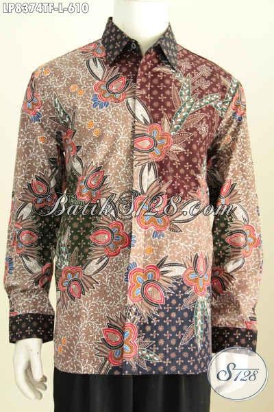 Jual Baju Batik Pria Lengan Panjang Pakaian Batik Kerja