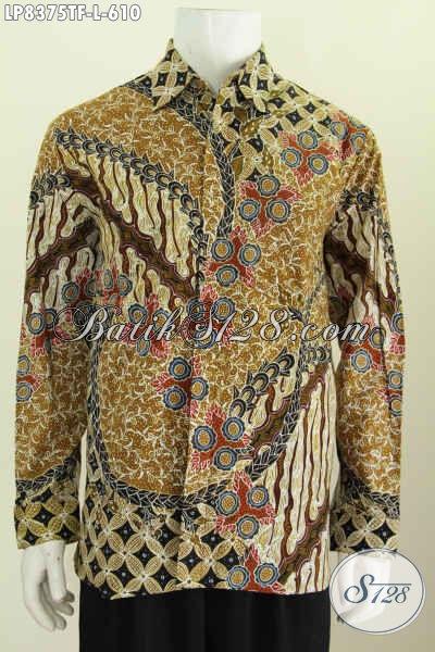 Baju Batik Lengan Panjang Pria Terbaru Busana Batik