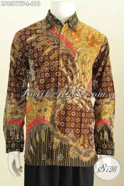 Update Harga Baju Batik Pria Premium Terbaru, Busana Batik Berkelas 600 Ribuan Bahan Adem Proses Tulis Untu kKerja Dan Acara Resmi [LP8377TF-L]