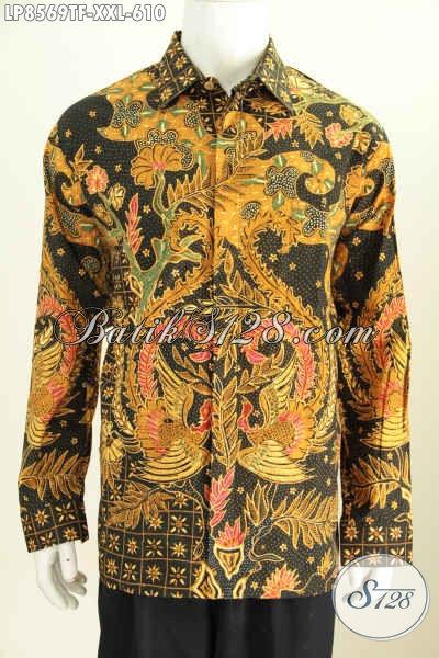 Batik Hem Halus Lengan Panjang Mewah Harga 600 Ribuan