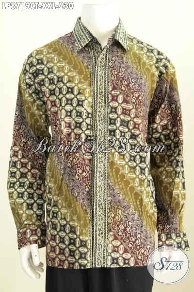Harga Baju Batik Pria Lengan Panjang Terbaru Busana Batik