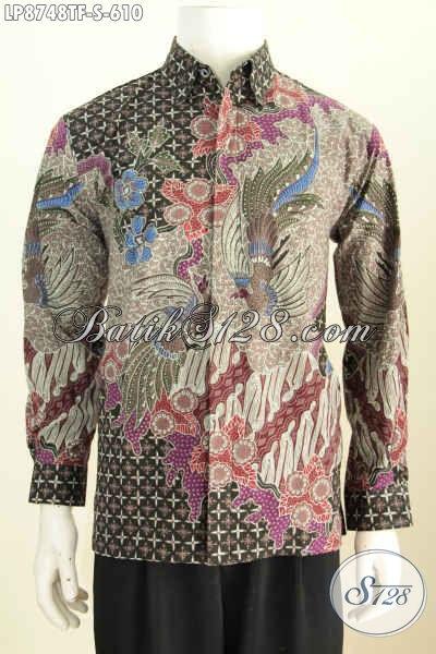 Sedia Model Baju Batik Pria Lengan Panjang 2018 Batik Hem