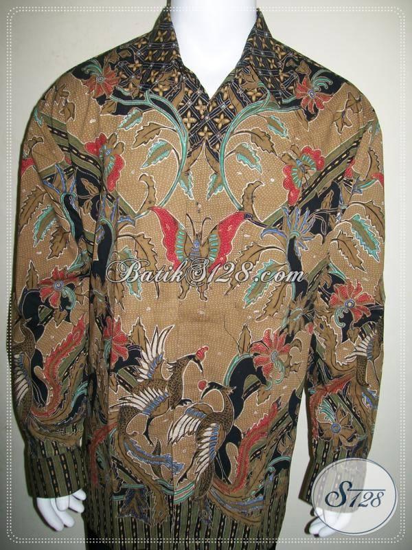 Batik Pria Ukuran Besar XXL Jumbo Big Size Warna Elegan Dan Eksklusif