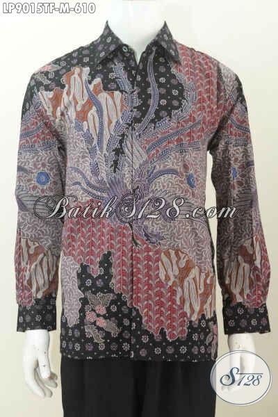 Harga Baju Batik Pria Lengan Panjang Premium Terbaru