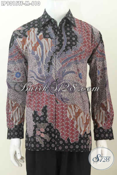 Kemeja Batik Lengan Panjang Pejabat Dan Eksekutif, Batik Tulis Motif Full Mewah Dan Berkelas