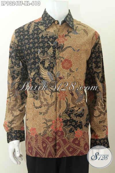 Sedia Kemeja Batik Lengan Panjang, Proses Batik Tulis Cocok Untuk Pejabat