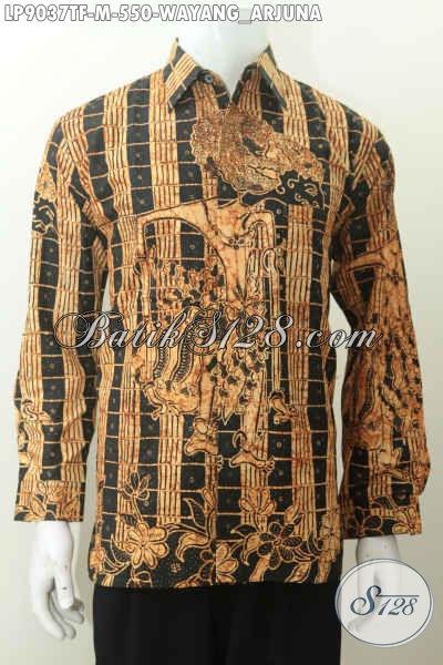 Sedia Hem Batik Tulis Wayang Arjuna Bahan Katun Full Furing Size M
