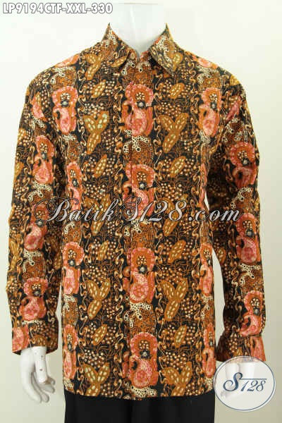 Baju Batik Ukuran Jumbo Kemeja Batik Elegan Lengan