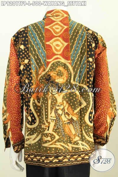 Batik Modern Desain Menarik Motif Wayang Setyaki