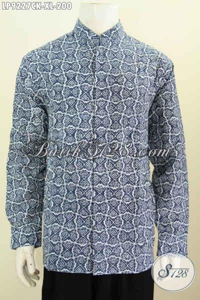 Baju Batik ELegan Koko Kerah Shanghai, Pakaian Batik Istimewa Untuk Pria Tampil Gagah Mempesona Size XL Hanya 200K