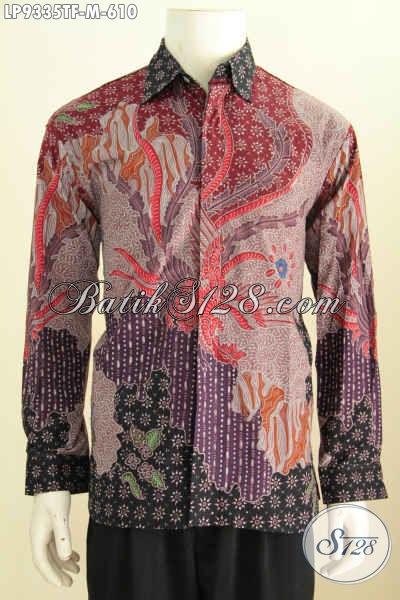 Hem Batik Exclusive Baju Batik Pria Pejabat Bahan Halus