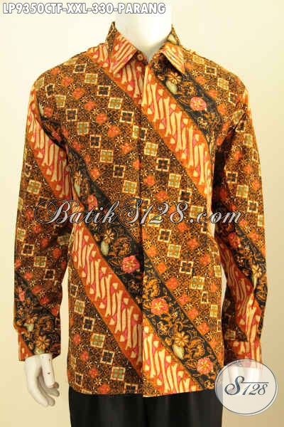 Eceran Harga Grosir Baju Batik Pria Lengan Panjang Klasik