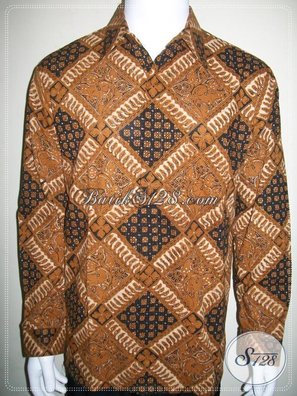Kemeja Batik Pria Lengan Panjang Harga Terjangkau [LD963BT-L]