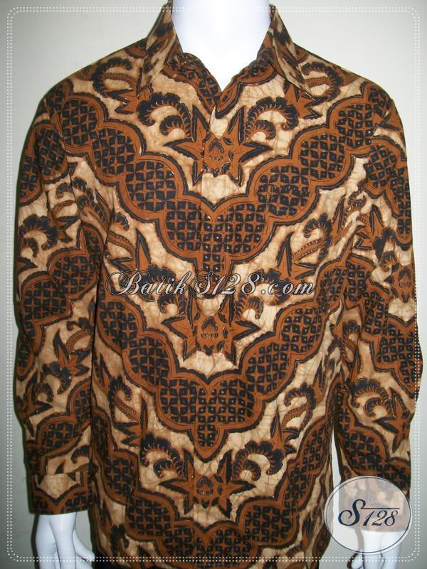 Jual Kemeja Batik Pria Lengan Panjang, Cocok Untuk Kondangan Dan Acara Resmi [LP964BT-L]