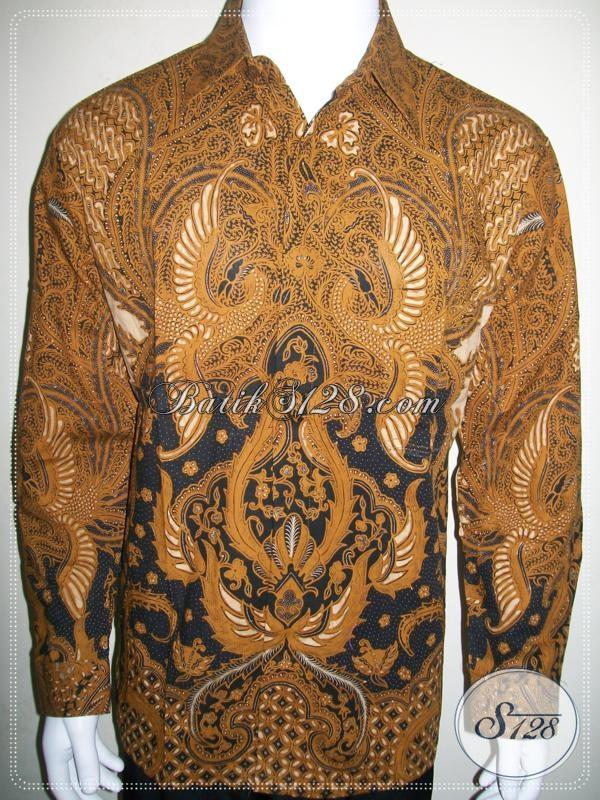 Kemeja Batik Resmi Kondangan Lengan Panjang, Batik Solo Online [LP965BT-L]