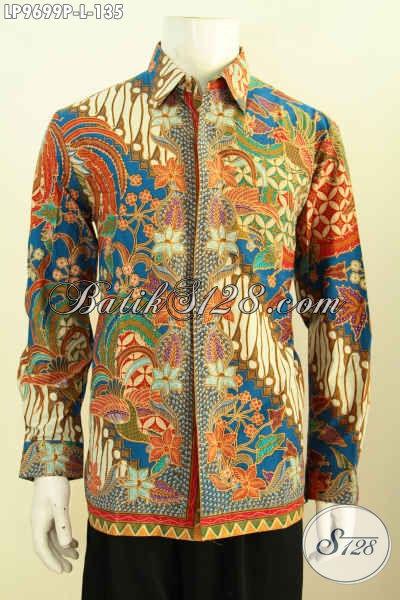 Hem Batik Mewah Lengan Panjang Harga Murmer Baju Batik