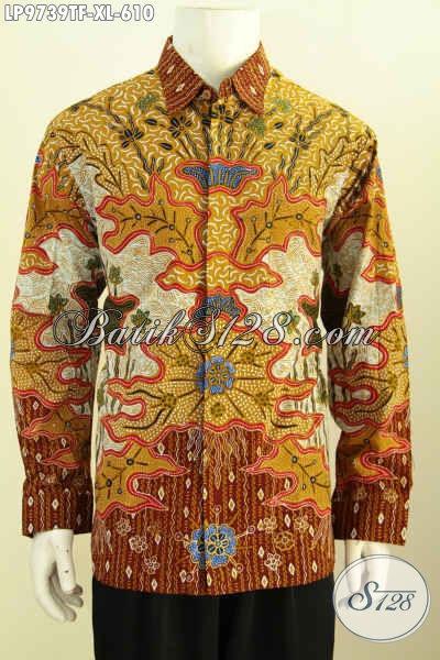 Harga Baju Batik Pria Lengan Panjang Premium 600 Ribuan