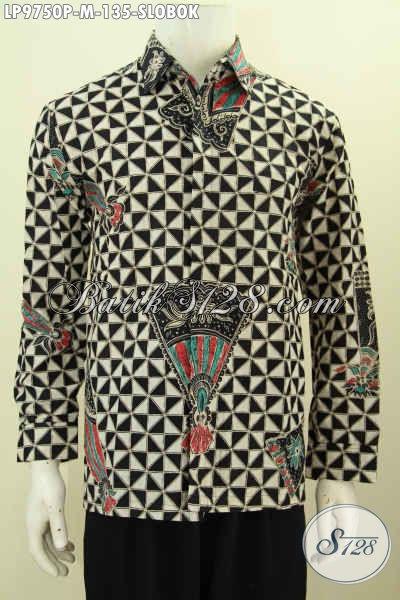 Kemeja Batik Terbaru, Motif Slobok Halus Dan Bagus Buatan SOlo