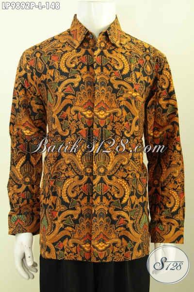 Batik Kemeja Klasik Lengan Panjang Model Baju Batik Pria Terbaru