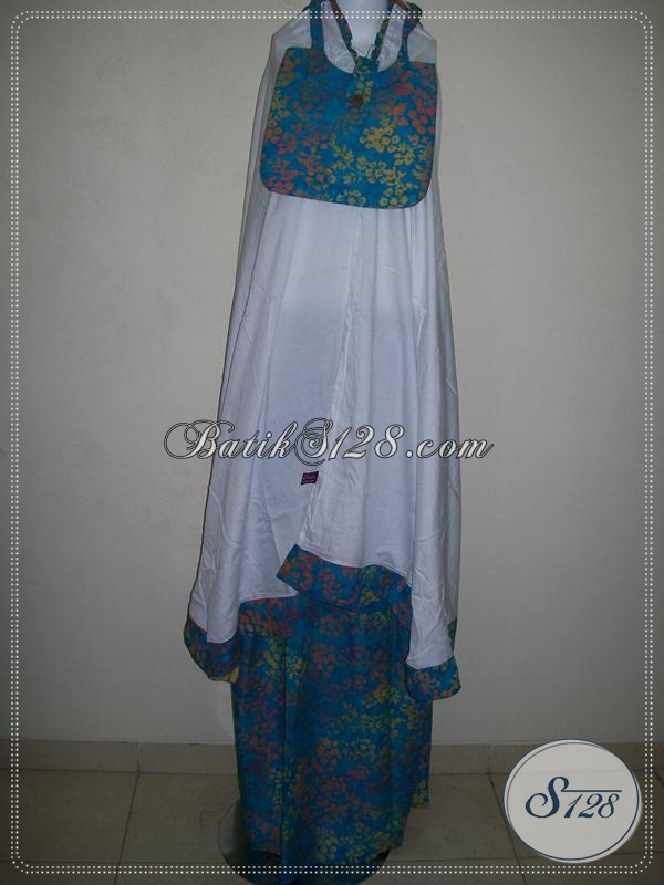 Mukena Batik Trendy Dan Murah,Mukena Batik Atas Bawah Yang Nyaman [MC046]