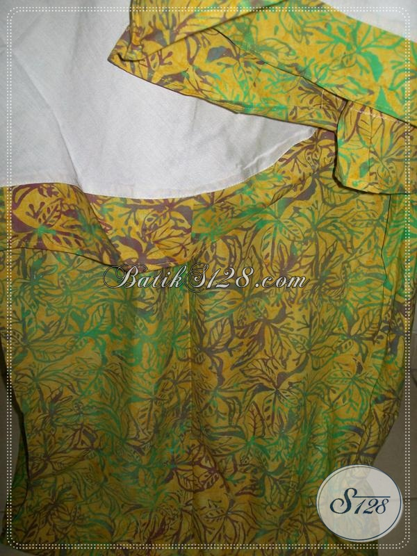Mukena Batik Halus Warna Hijau,Mukena Batik Persiapan Lebaran [MC058]
