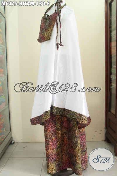 Mukena Batik Halus Motif Bagus Dengan Bahan Adem Yang Nyaman Di Pakai, Rukuh Batik Solo Kwalitas Istimewa Dengan Harga Biasa [MC075-Dewasa]