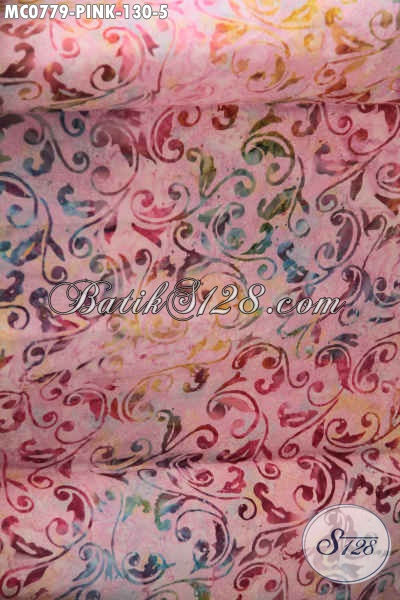 Mukena Batik Motif Unik Dengan Kombinasi Warna Pink, Rukuh Batik Khas Jawa Tengah Bahan Adem Proses Cap Yang Nyaman Di Pakai Tiap Hari [MC077-Dewasa]