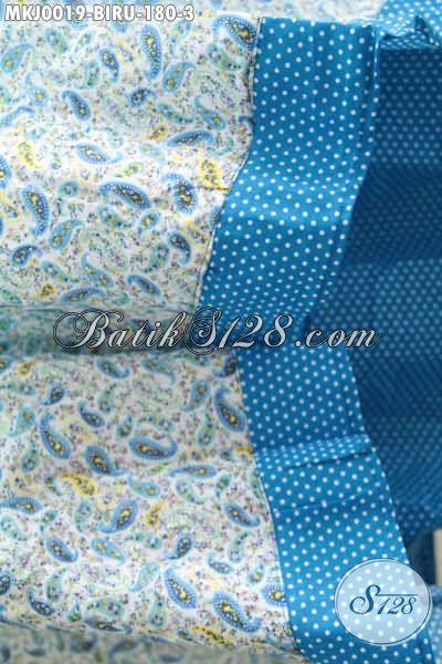 Mukena Batik Katun Jepang Dengan Desain Motif Dan Warna Cerah Kesukaan Wanita Muda Dan Remaja Putri, Berbahan Halus Adem Harga 180K [MKJ001-Dewasa]