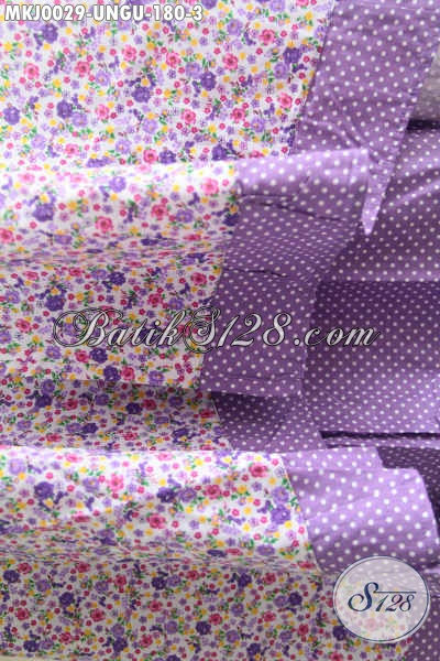Toko Batik Online Jual Mukena Batik Ungu Berbahan Katun Jepang Kwalitas Halus Dengan Motif Keren Dan Menarik Harga 180 Ribu [MKJ002-Dewasa]