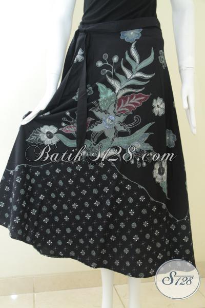 Rok Batik Tulis Buatan Asli Solo, Bawahan Batik Motif Modern Trendy Membuat Perempuan Terlihat Cantik Dan Feminim, Size Midi