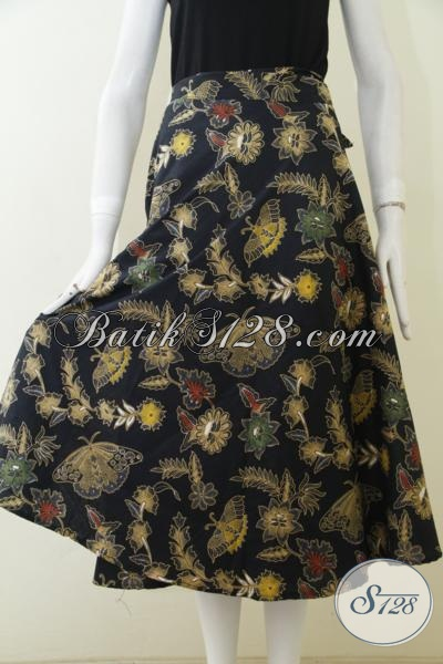 Rok Batik Katun Proses Kombinasi Tulis, Bawahan Batik Motif Trendy Membuat Wanita Tampil Lebih Berkelas