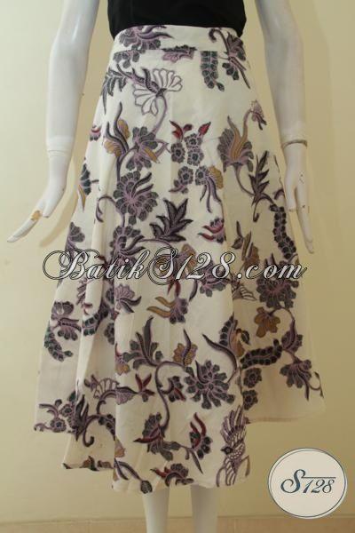 Baju Batik Bawahan Motif Bunga Khas Remaja Putri, Rok ...