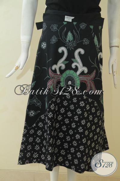 Rok Batik Lilit Istimewa Proses Tulis Kombinasi Dua Motif, Pakaian Batik Keren Kwalitas Premium Desain Istimewa Dan Gaul