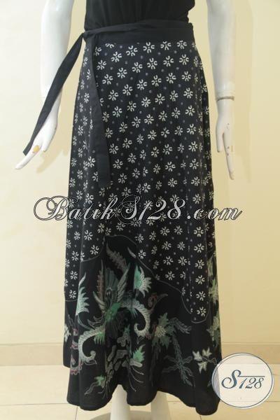 Jual Produk Rok Batik Terbaru Model Lilit Proses Tulis, Bawahan Batik Trendy Ukuran Maxi Untuk Wanita Dewasa