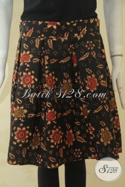 Produk Pakaian Rok Batik Wanita Muda Untuk Tampil Bergaya, Jual Online Bawahan Batik Desain Keren Berbahan Halus Dan Nyaman Di Pakai, Size XL