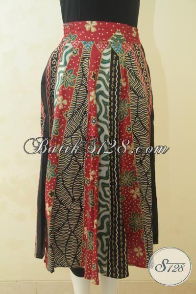 Jual Baju Rok Batik Kwalitas Istimewa Trendy Desain Modern Yang Berkelas, Busana Batik Santai Proses Printing Berbahan Adem Yang Nyaman Di Kenakan Sehari-Hari, Size S – M