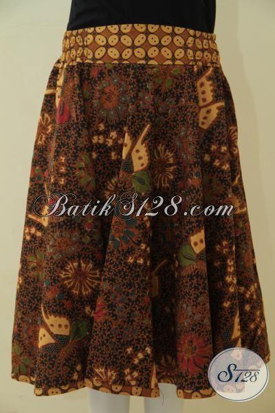 Rok Batik Istimewa Kwalitas Premium, Bawahan Batik Berbahan Halus Proses Kombinasi Tulis Dan Pakai Tricot Model Paling Baru Saat Ini