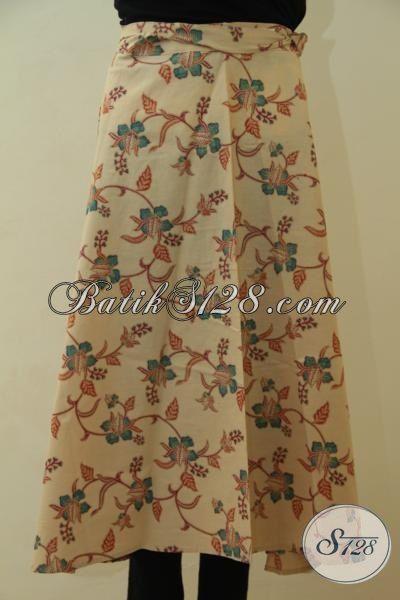 Batik Rok Terbaru Trend Mode Lilit Yang Di sukai Wanita Muda Dan Dewasa, Batik Bawahan Proses Print Lasem Desain Mewah Tampil Istimewa