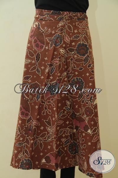 Jual Rok Batik Lilit Model Terbaru, Bawahan Batik Untuk Wanita Muda Tampil Makin Anggun Mempesona, Berbahan Halus Proses Cap Tulis Motif Trendy [R3572BT-All Size]