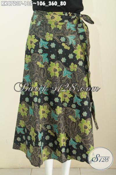 Baju Batik Bawahan Model Lilit Motif Bagus Kwalitas Istimewa, Produk Rok Trendy Bahan Batik Printing Harga 135K