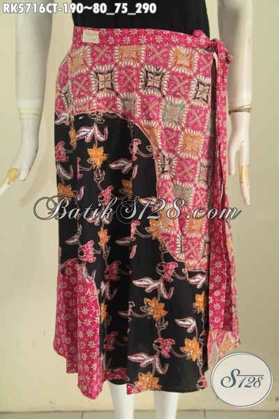 Rok Batik Halus Motif Mewah Bahan Adem Proses Cap Tulis Untuk Penampilan Lebih Gaya [RK5716CT-All Size]