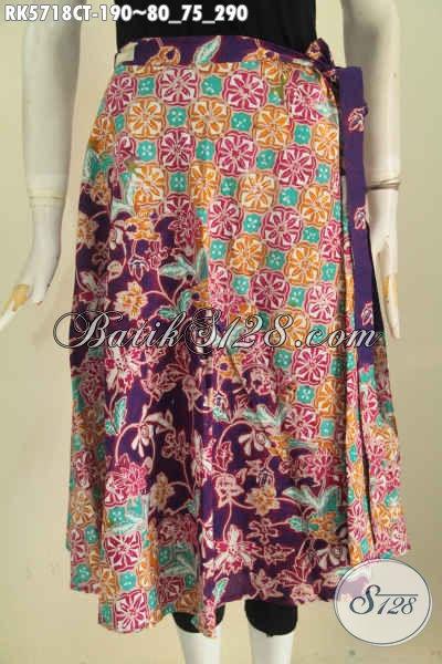 Produk Terbaru Rok Batik Wanita, Hadir Dengan Desain Trendy Kwalitas Bahan Bagus Untuk Penampilan Lebih Stylish [RK5718CT-All Size]