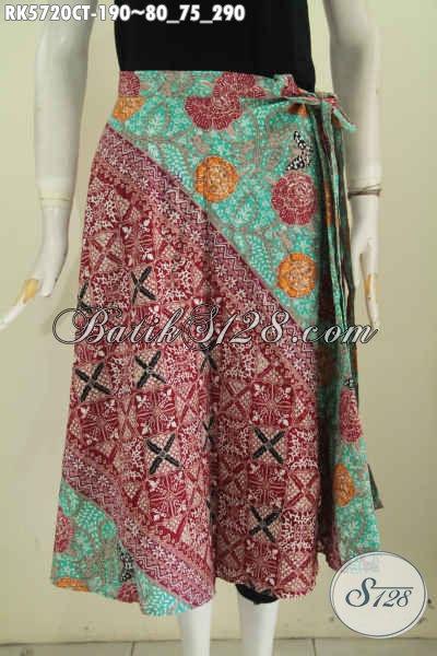 Baju Rok Batik Modis Motif Bagus Banget Proses Cap Tulis Desain Trendy Pas Untuk Santai Dan Hangout