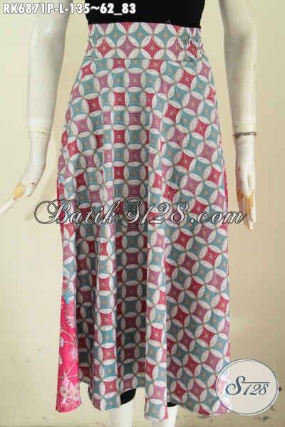 Batik Rok Model Klok Baju Batik Bawahan Wanita Terkini Modis Di
