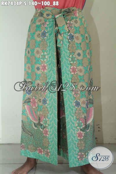 Celana Batik Desain Terkini, Produk Celana Batik Kulot Model Layer Keren Dan Trendy Buat Gaul, Bahan Halus Motif Elegan Printing 100 Ribuan Saja [RK7434P-S]
