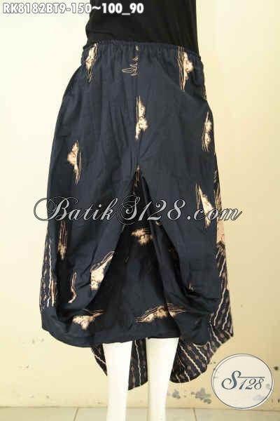 Model Batik Rok Aladin Bahan Halus Motif Klasik Kombinasi Tulis, Busana Bawahan Tren Masa Kini Di Lengkapi Kantong 2 Serta Karet Dan Tali Pinggan Harga 150 Ribu [RK8182BT-All Size]