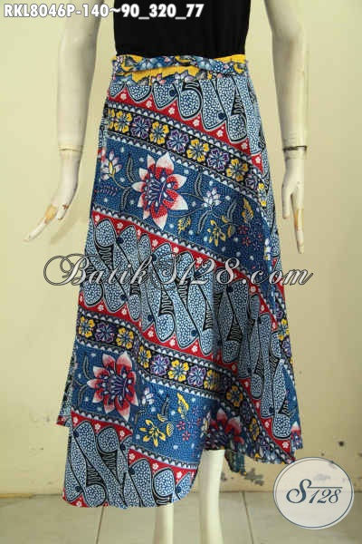Batik Rok Model Lilit Dan Bertali, Pakaian Batik Bawahan Menunjang Penampilan Lebih Cantik Dan Mempesona