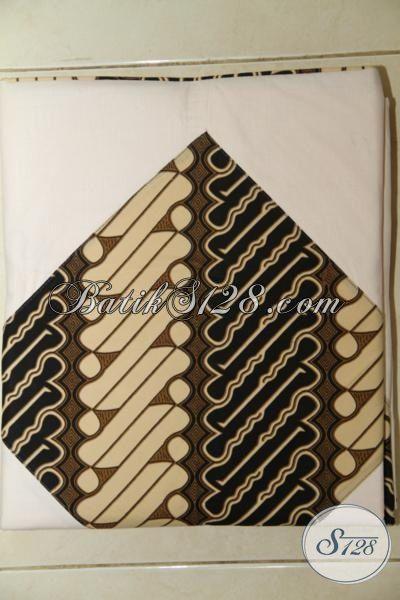 Sprei Batik Motif Parang Proses Printing, Bahan Katun Halus Dan Adem, Di Lengkapi Sarung Bantal Serta Guling [SP015P-180 x 200 cm]