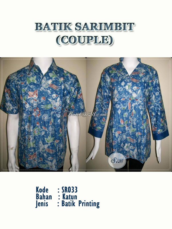 Batik Couple Modern Sarimbit Pasangan Anak Muda Elegan Dan